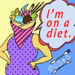「ダイエット」から学ぶ<br>I'm on a diet.