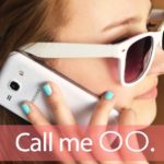 「コール」を知ってれば…ゼッタイ話せる英会話→ Call me.