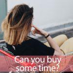 「バイ」と「タイム」を知ってれば…ゼッタイ話せる英会話→ Can you buy some time?