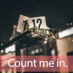 「カウントダウン」から学ぶ→ Count me in.