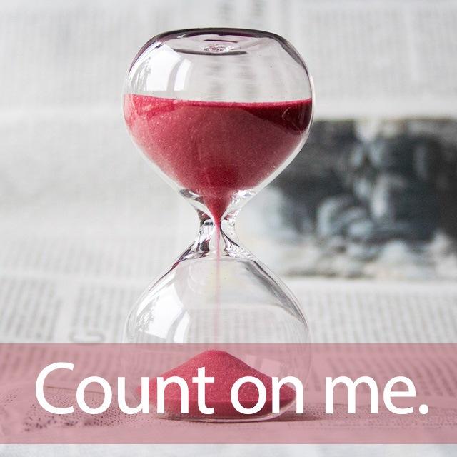 「カウント」を知ってれば…ゼッタイ話せる英会話→ Count on me.