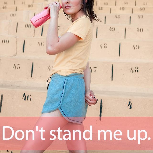 「スタンド」を知ってれば…ゼッタイ話せる英会話→ Don't stand me up.