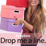 「Dropbox」から学ぶ→ Drop me a line.