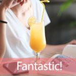 「ファンタ」から学ぶ→Fantastic!