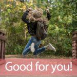 「グッド」を知ってれば…ゼッタイ話せる英会話→ Good for you!