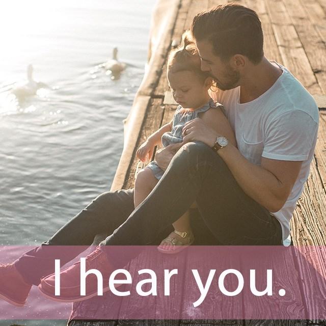 「ヒアリング」を知ってれば…ゼッタイ話せる英会話→ I hear you.