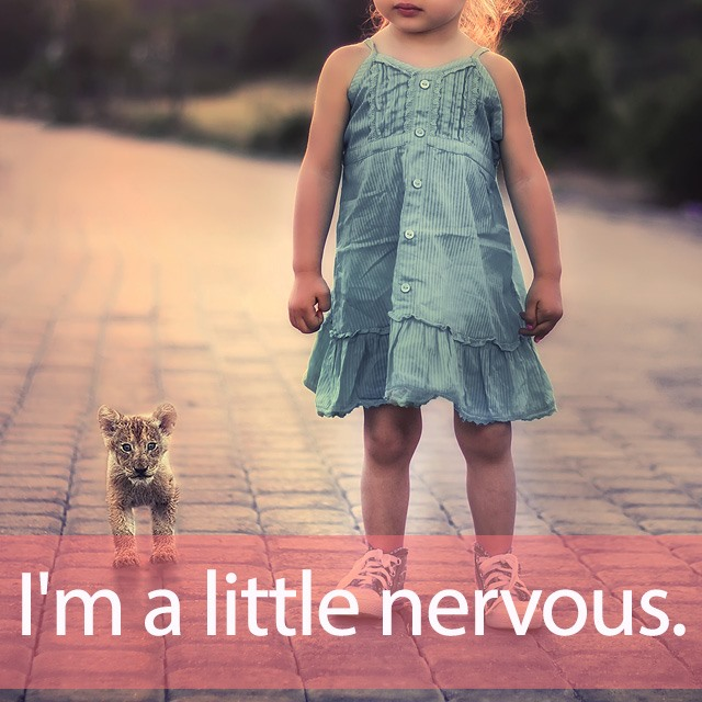 「リトル」を知ってれば…ゼッタイ話せる英会話→ I'm a little nervous.