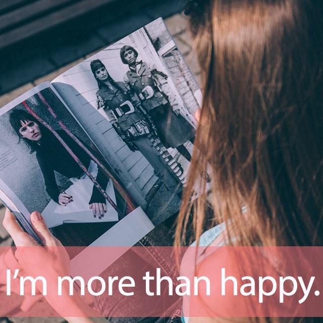 「MORE」を知ってれば…ゼッタイ話せる英会話→ I'm more than happy.