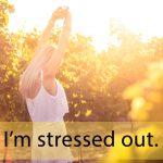「ストレスチェック」から学ぶ→ I'm stressed out.
