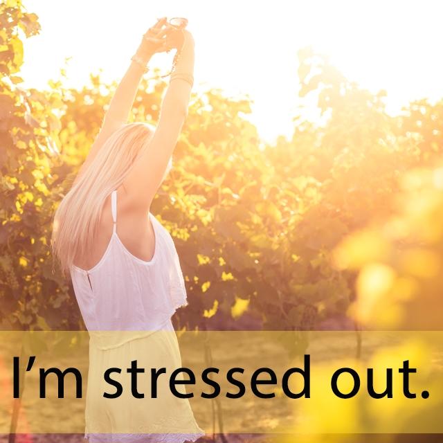 「ストレス」を知ってれば…ゼッタイ話せる英会話 I'm stressed out.