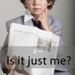 「ミー」から学ぶ→ Is it just me?