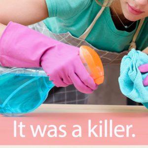 「カビキラー」を知ってれば…ゼッタイ話せる英会話→ It was a killer.