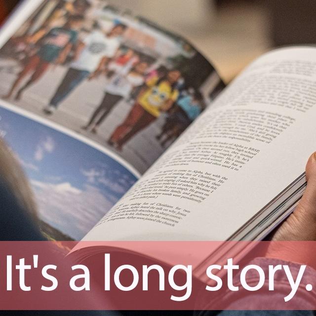 雑誌「STORY」を知ってれば…ゼッタイ話せる英会話→ It's a long story.