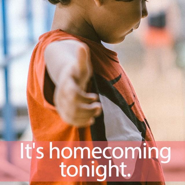 「スパイダーマン:ホームカミング」を知ってれば…ゼッタイ話せる英会話→ It's homecoming tonight.