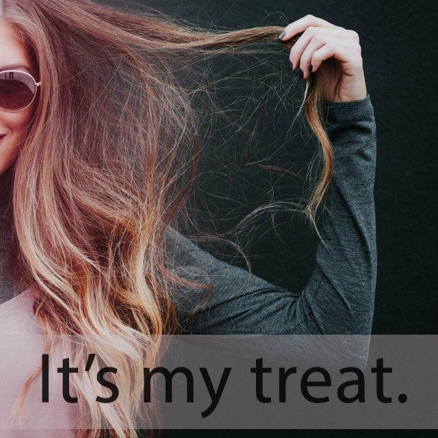 「トリートメント」を知ってれば…ゼッタイ話せる英会話→ It's my treat.