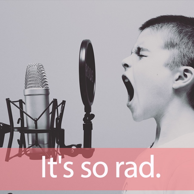 「RADWIMPS」を知ってれば…ゼッタイ話せる英会話→ It's so rad.