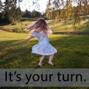 「ターン」を知ってれば…ゼッタイ話せる英会話→ It's your turn.