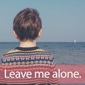 「ホーム・アローン」を知ってれば…ゼッタイ話せる英会話→ Leave me alone.