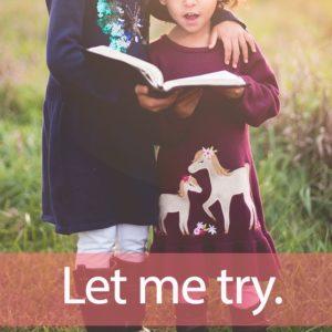 「家庭教師のトライ」を知ってれば…ゼッタイ話せる英会話→ Let me try.