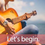 「BEGIN」から学ぶ→ Let's begin.