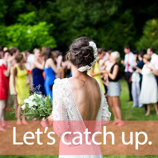 「キャッチ」を知ってれば…ゼッタイ話せる英会話→ Let's catch up.