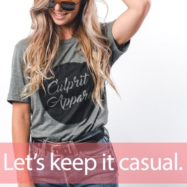 「カジュアル」を知ってれば…ゼッタイ話せる英会話→ Let's keep it casual.