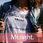 「ライト」を知ってれば…ゼッタイ話せる英会話→ Mr.Right.