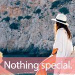 「スペシャル」を知ってれば…ゼッタイ話せる英会話→ Nothing special.
