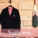 「スーツ」を知ってれば…ゼッタイ話せる英会話→ Suits me.