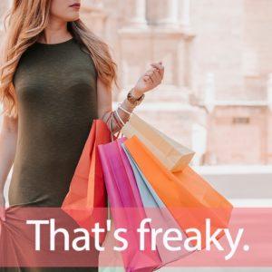 「FREAK'S STORE(フリークスストア)」を知ってれば…ゼッタイ話せる英会話→ That's freaky.