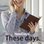 「NewDays」から学ぶ→ These days.