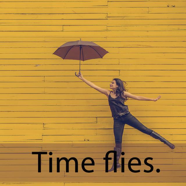 「フライ」を知ってれば…ゼッタイ話せる英会話 Time flies.
