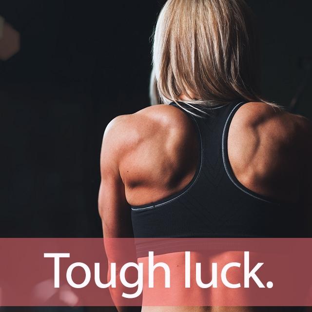 「タフ」を知ってれば…ゼッタイ話せる英会話→ Tough luck.