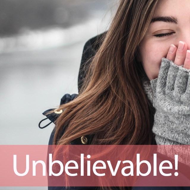 「アンビリバボー」を知ってれば…ゼッタイ話せる英会話→  Unbelievable!