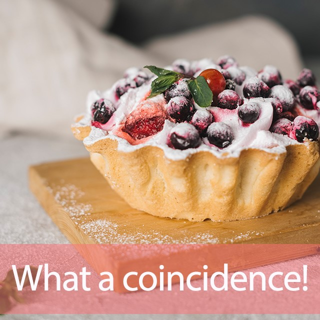 What a Tart!(ワットアタルト)から学ぶ→ What a coincidence!