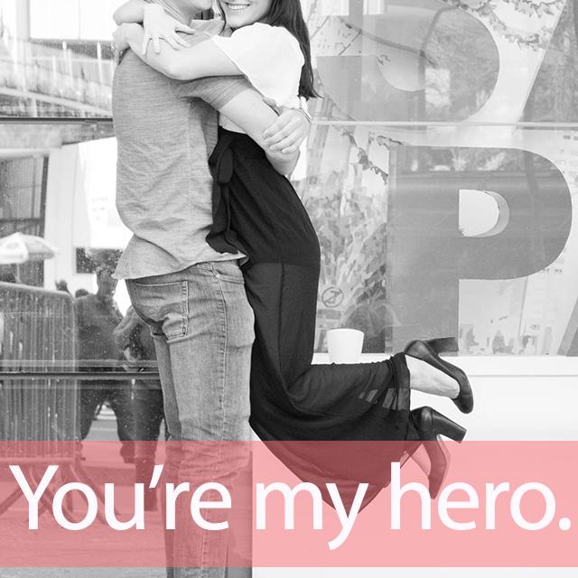安室奈美恵「Hero」を知ってれば…ゼッタイ話せる英会話→ You're my hero.